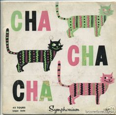 Images for Bob Allan Et Son Orchestre - Cha, Cha, Cha Lp Cover, Cover Art, Crazy Cat Lady, Crazy Cats, Kitsch, Alphabet, Cool Album Covers, Jazz, Album Design