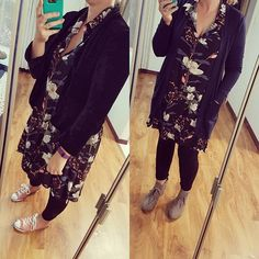Me Made May day 10. Version 1 and 2 for different events today. Work and Mothers day concert. Alder dress, Velvet Morris Blazer and a Blackwood Cardigan and dofferent shoes.  #memademay #mmmay2017 #aldershirtdress #morrisblazer #blackwoodcardigan #handmadewardrobeblackwoodcardigan,morrisblazer,memademay,mmmay2017,aldershirtdress,handmadewardrobeshesewsalot