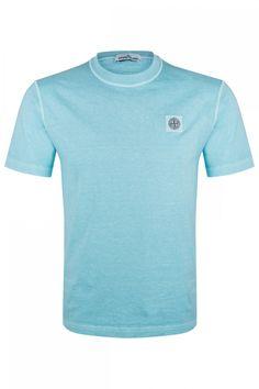 Stone Island Herren T-Shirt Türkis | SAILERstyle Stone Island, Pullover, Herren T Shirt, Parka, Mens Tops, Fashion, Fashion Styles, Lace Cardigan, Nice Asses