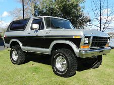 Ford : Bronco Xlt 1979 ford bronco ranger xlt 4 x 4 f 150 nice condition 60 pics video
