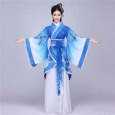 Women Chinese Han Dynasty Ruqun Hanfu Suit Cosplay Long Sleeve Dress Costume - - Women Chinese Han Dynasty Ruqun Hanfu Suit Cosplay Long Sleeve Dress Costume 2019 New Collection Models Ladies-Receive New and Up-. Chinese Clothing Traditional, Traditional Japanese Kimono, Traditional Fashion, Traditional Dresses, Japanese Geisha, Hanfu, Kimono Tradicional, Chinese Kimono, Japanese Kimono Dress