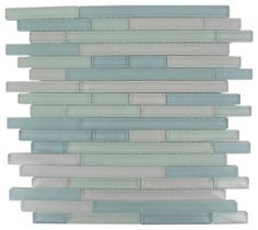 Tao Beach Glass Tiles - tropical - bathroom tile - Glass Tile Store