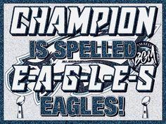 Philadelphia Eagles Super Bowl Champions Eagles Memes, Philadelphia Eagles Super Bowl, Fly Eagles Fly, Champion, Cowboys, Sayings, Lyrics, Quotations, Idioms