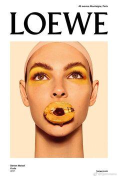 Loewe   Steven Meisel's Fruit-Inspired Beauty Looks