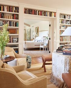 Give us a copy of Little Women by Louisa May Alcott, and we'll happily curl up in one of these cozy seats and spend the rest of the winter… Home Interior Design, Interior Decorating, Decorating Tips, Interior Architecture, Built In Bookcase, Bookcases, Bookshelf Wall, Barrister Bookcase, Bookshelf Ideas