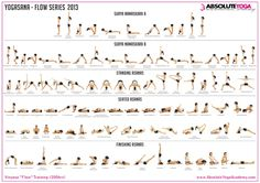 Ashtanga Yoga Asanas Names. Whip Your Entire Body Into Shape With One Of These Ideas. Vinyasa Yoga Poses, Yoga Bewegungen, Ashtanga Vinyasa Yoga, Yoga Moves, Yoga Sequences, Yoga Flow, Yin Yoga, Yoga Chart, Yoga Poses Chart