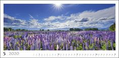 Traumlandschaften Panorama Kalender 2020 - KV & H