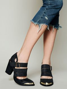 Jeffrey Campbell Braken Ankle Boot at Free People Clothing Boutique