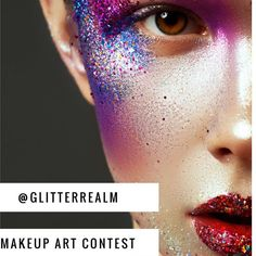 Hi Beauties! our monthly makeup art challenge is here! Ready to get creative?  February's theme is LOVE STRUCK. To enter your artwork upload you new creations on theme and tag us @glitterrealm and use the hashtags #365daysofglitter and #glitterrealmmakeupchallenge Make as many artistic beauty looks inspired by love and being love struck.  Rules:  Must be following us on instagram: @glitterrealm  Must be following us on Facebook: http://ift.tt/2kkuQ9O Must upload new work for each month's…