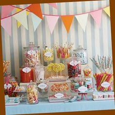 candy bar ideas | Candy bar ideas for quinceanera