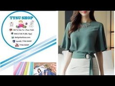 706_ Dạy Cắt May Áo Đầm | tysu shop |sewing diy clothes| sewing online class free - YouTube Girl Dress Patterns, Sewing Patterns, Fashion Sewing, Sewing Techniques, Blouse Designs, Girls Dresses, Dressing, Fashion Outfits, Youtube