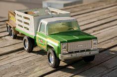Vintage Toys  Nylint Farms Pickup & Nylint by AtticAtRedTopRanch, $55.00