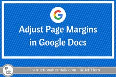 in pages how to change margins