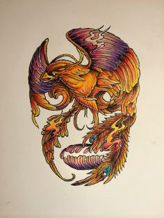 Phoenix or skull?