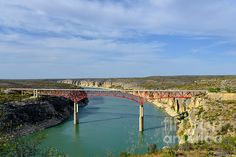 'Pecos River High Bridge' Photograph by Christine Till Fine Art Prints for Sale at http://fineartamerica.com/featured/pecos-river-high-bridge-christine-till.html and at http://pixels.com/featured/pecos-river-high-bridge-christine-till.html NEW! Now 'Pecos River High Bridge' can also be commercially licensed at http://licensing.pixels.com/featured/pecos-river-high-bridge-christine-till.html