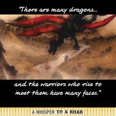 There are many dragons, and the warriors who rise to meet them have many faces. Many Faces, Whisper, Documentary, Warriors, Dragons, Random Stuff, Meet, Facebook, Movie Posters