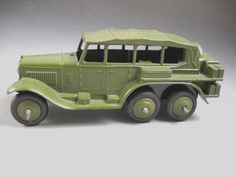 Dinky Toys Meccano Ltd England RECONNAISSANCE CAR Military 152B NO BOX #DinkyToys #ArmstongSiddeley