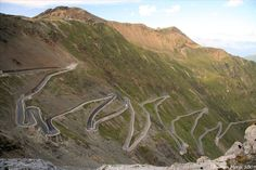 Stelvio Pass, Italy.  Not only a place to see, a place to *drive*! #bucketlist