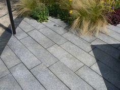 Silver Grey Granite Plank Paving - CED Ltd UK
