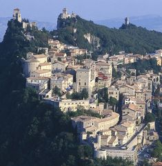Here we have one of my absolute all time favourite places, San Marino in Italy, it is a state within itself with it's own laws and tax free haven, we vistited here when it was their Independence day and the Old solders of the city were in a parade, this is some where everyone should visit once in a life time, beautiful.