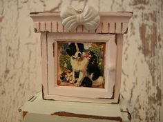 Miniature dollhouse cabinet by Mosswayminiatures on Etsy, $24.50