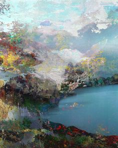 """Untitled (Landscape) 20120315e"" Art Print by Tchmo"