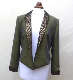 Custom Made to order Upcycled desperately seeking Susan jacket ,made to order contact me about size. Madonna 80s Fashion, Desperately Seeking Susan, Order Contacts, Sell On Etsy, Custom Made, Upcycle, Im Not Perfect, Blazer, Trending Outfits