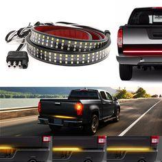 Redline LED Tailgate Light Bar Led Light Bars, Light Up, Best Car Tyres, Led Tailgate Light Bar, Amber Led Lights, 2013 Toyota Tundra, Truck Tailgate, Stopping Power, High Beam