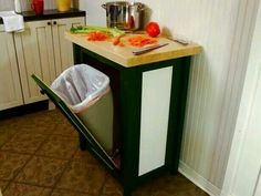 Love this idea, extra space and smart way to use it!  Gotta do this in the new house.