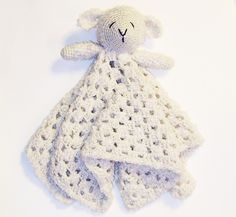 Ravelry: Little Lamb Lovey pattern by Briana Olsen (I have this one)
