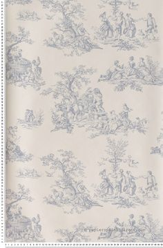 1000 ideas about lutece papier peint on pinterest - Papier peint toile de jouy ...