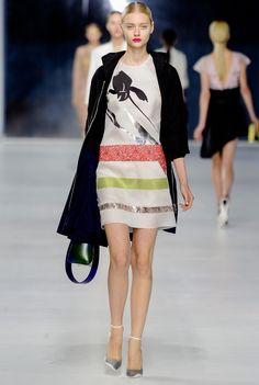 Christian Dior Resort 2014 Fashion Show - Nastya Kusakina
