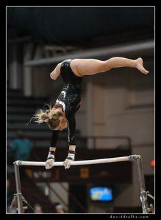 Women's Gymnastics - Nebraska at Minnesota gymnast on uneven bars moved from Gymnastics: Collegiate board #KyFun m.16.81