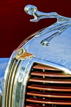 1938 Dodge ~ Ram Hood Ornament