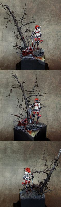 Little Red Riding Hood Kingdom Death model