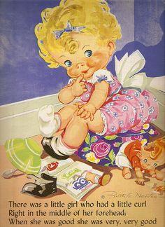 """""""Ruth Newton's Mother Goose"""", Whitman 1963."""