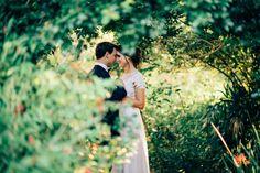 Figtree wedding photography, bride, wedding dress, nature.