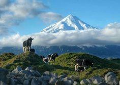 Mount Taranaki, The North Island, New Zealand