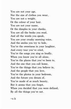 Lovely poem