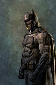 longlivethebat-universe: Batman by HansNomad