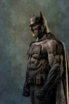 longlivethebat-universe: Batman by HansNomad