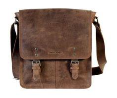 Troop Cherokee Leather Satchel Bag
