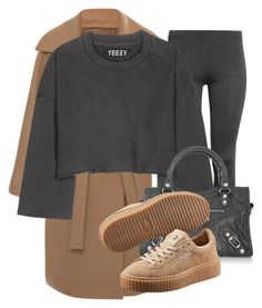 """Untitled #3319"" by xirix ❤ liked on Polyvore featuring N°21, H&M, adidas Originals, Balenciaga and Puma"