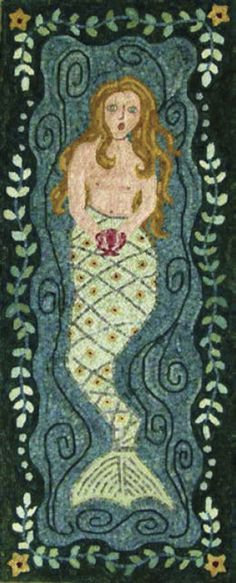 hooked rugs designs - Google Search