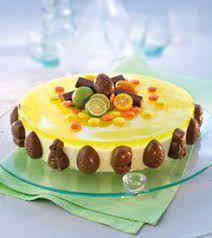 Bilderesultat for påskekake Norwegian Food, Norwegian Recipes, Easter Recipes, Something Sweet, Let Them Eat Cake, Yummy Cakes, Cake Cookies, Delicious Desserts, Cake Recipes