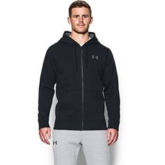 Under Armour Men's Storm Rival Cotton Full Zip Warm-up Top