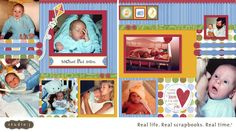 Clearly from the Heart: Studio J Saturday - Animal Cookies Layout