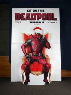 On the second day of Deadpool, Saint Wade gave to me…Ryan Reynolds being inappropriate with himself.