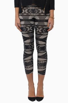 Sexy interesting patterned leggings