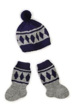 Nordic Yarns and Design since 1928 Knitting Socks, Knitted Hats, Baby Clothes Blanket, Boot Cuffs, Baby Cardigan, Baby Knitting Patterns, Knitting Ideas, Baby Booties, Yarn Crafts